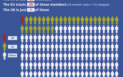 The UK is only 1 out of 161 WTO members